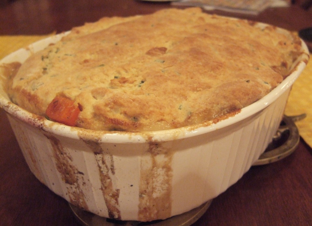 Off Topic: Root Vegetable Cobbler
