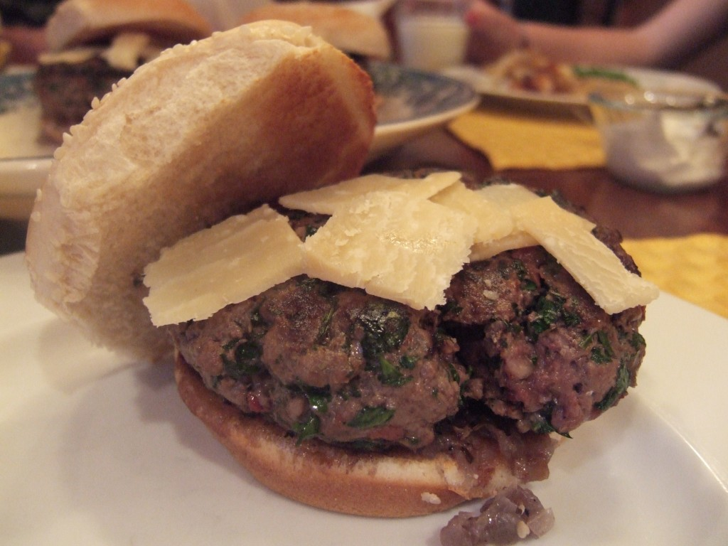 Around My French Table: Cafe Salle Pleyel Hamburgers