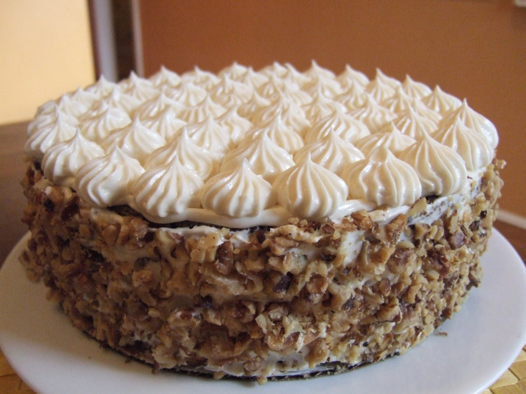 Off Topic: Carrot Cake