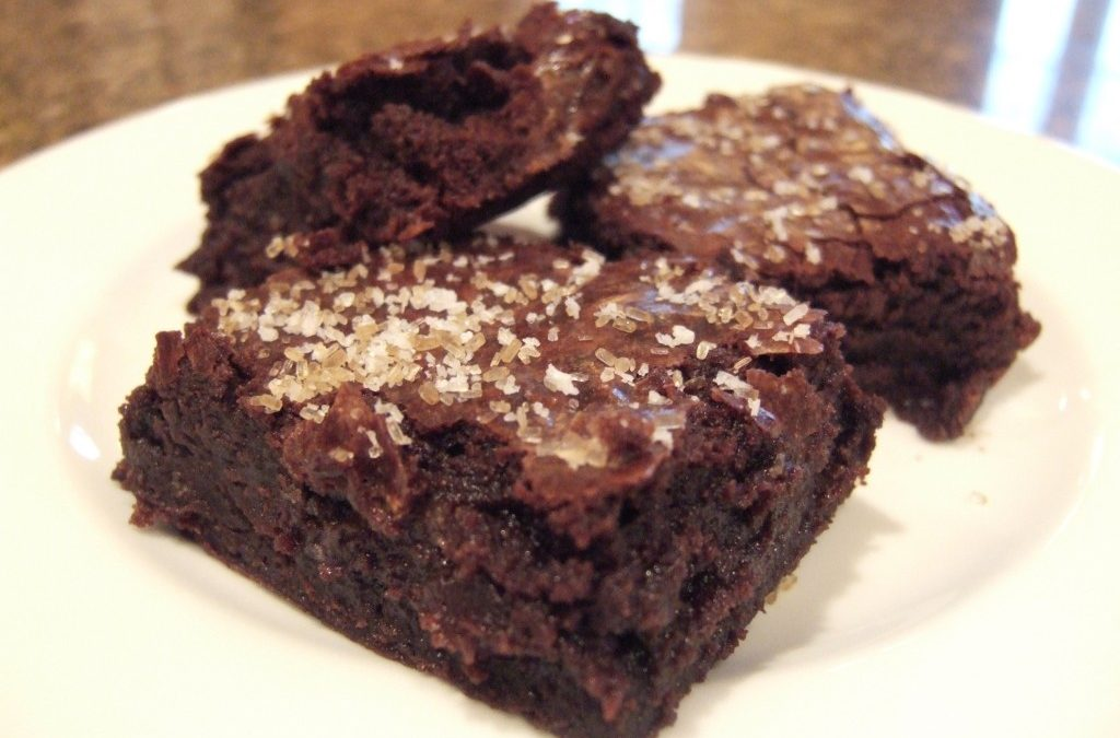 Baked Explorations: Sweet and Salty Brownies