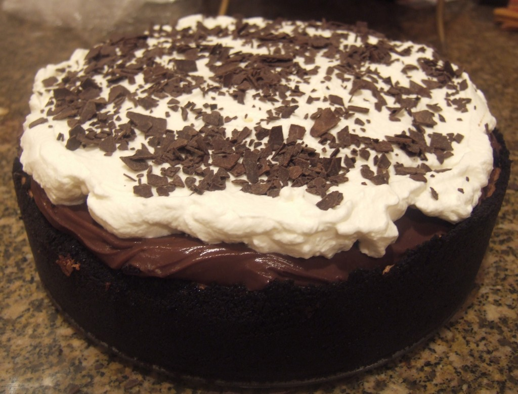 Baked Explorations: Mississippi Mud Pie (B), aka Muddy Mississippi Cake
