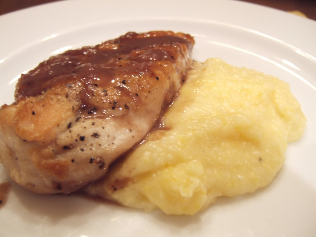 Off Topic: Sauted Chicken Breasts with Red Wine Pan Sauce