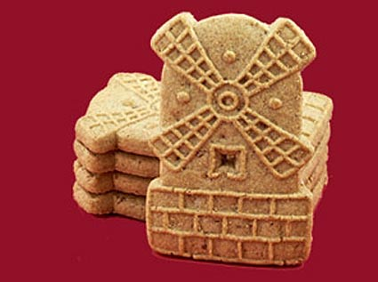 spelled Speculoos) Cookies, otherwise known as Dutch Windmill Cookies ...