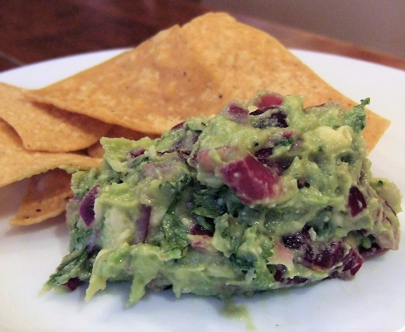 The Essential New York Times Cookbook: Grilled Onion Guacamole