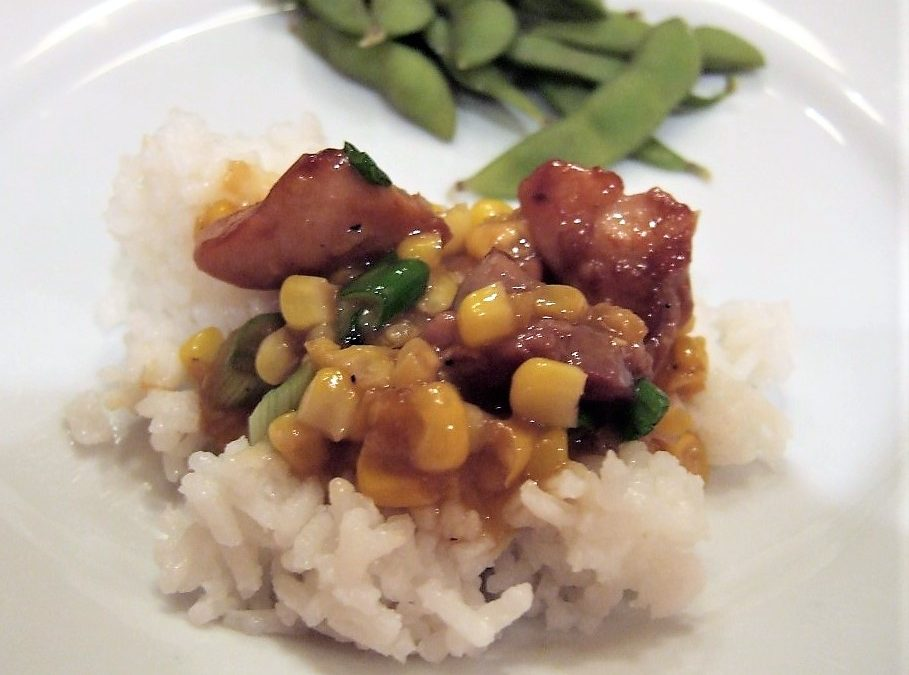 The Essential New York Times Cookbook: Stir-Fried Chicken with Creamed Corn