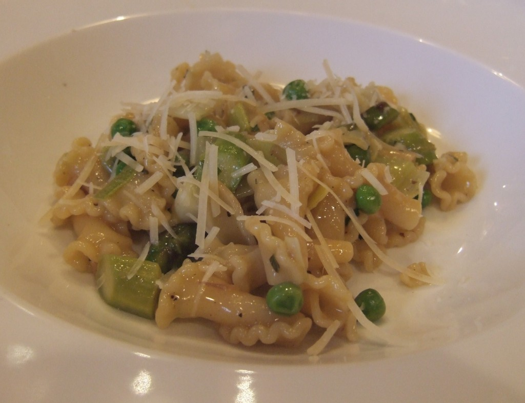 Off Topic: Spring Vegetable Pasta