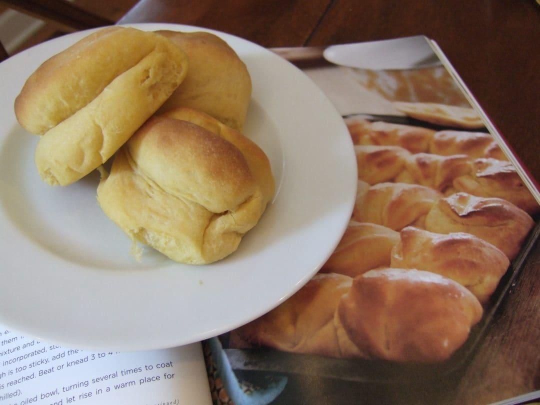 Sweet Potatoe Rolls