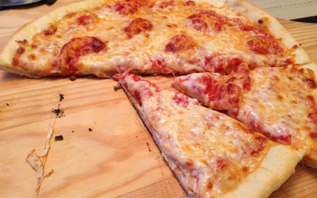 Easy Skillet Cheese Pizza