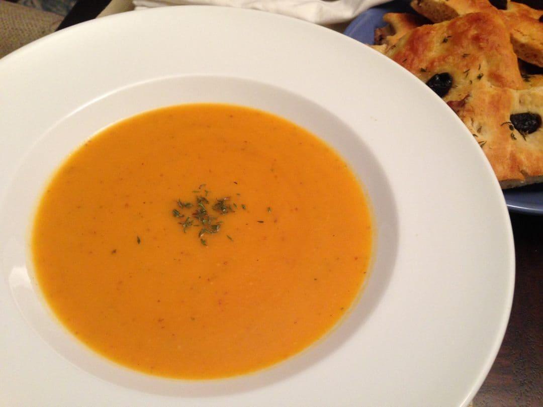 Sweet Potato Soup Kate Cooks The Books
