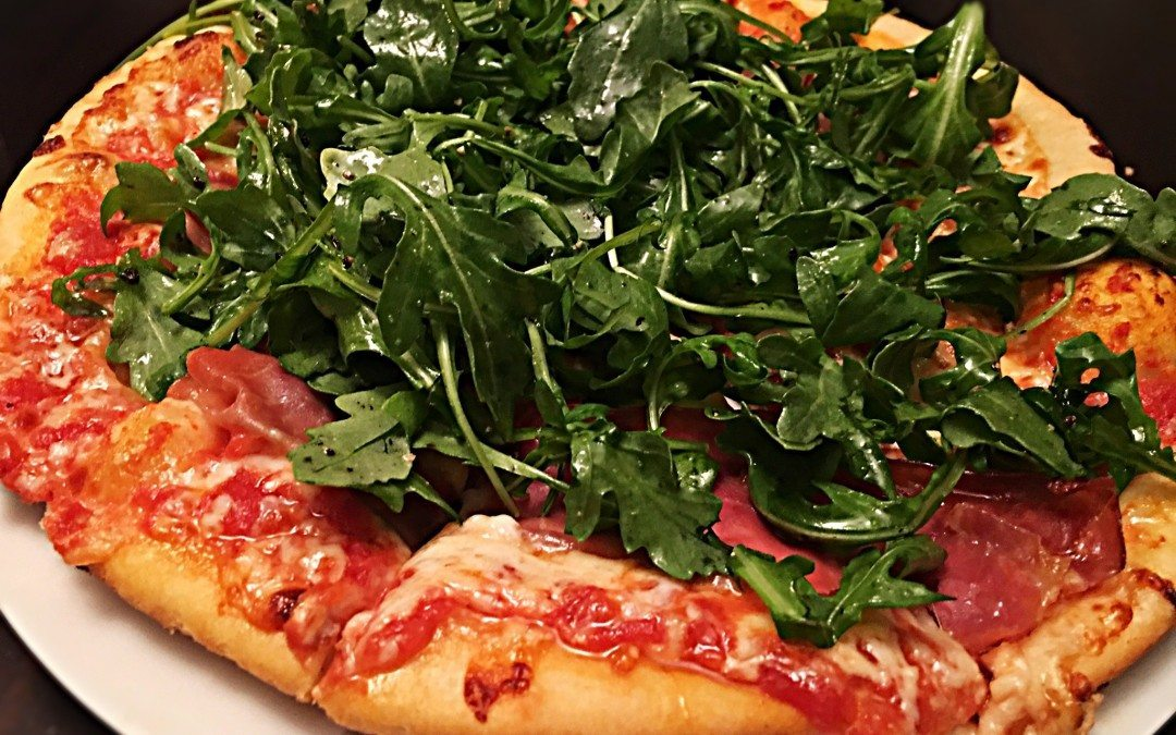 Easy Skillet Pizza re-visited