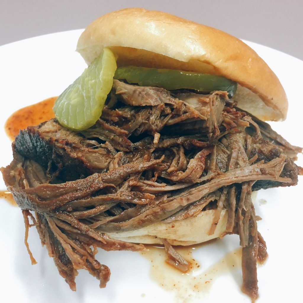 Kansas City BBQ Brisket, from Master of the Grill (America's Test Kitchen)