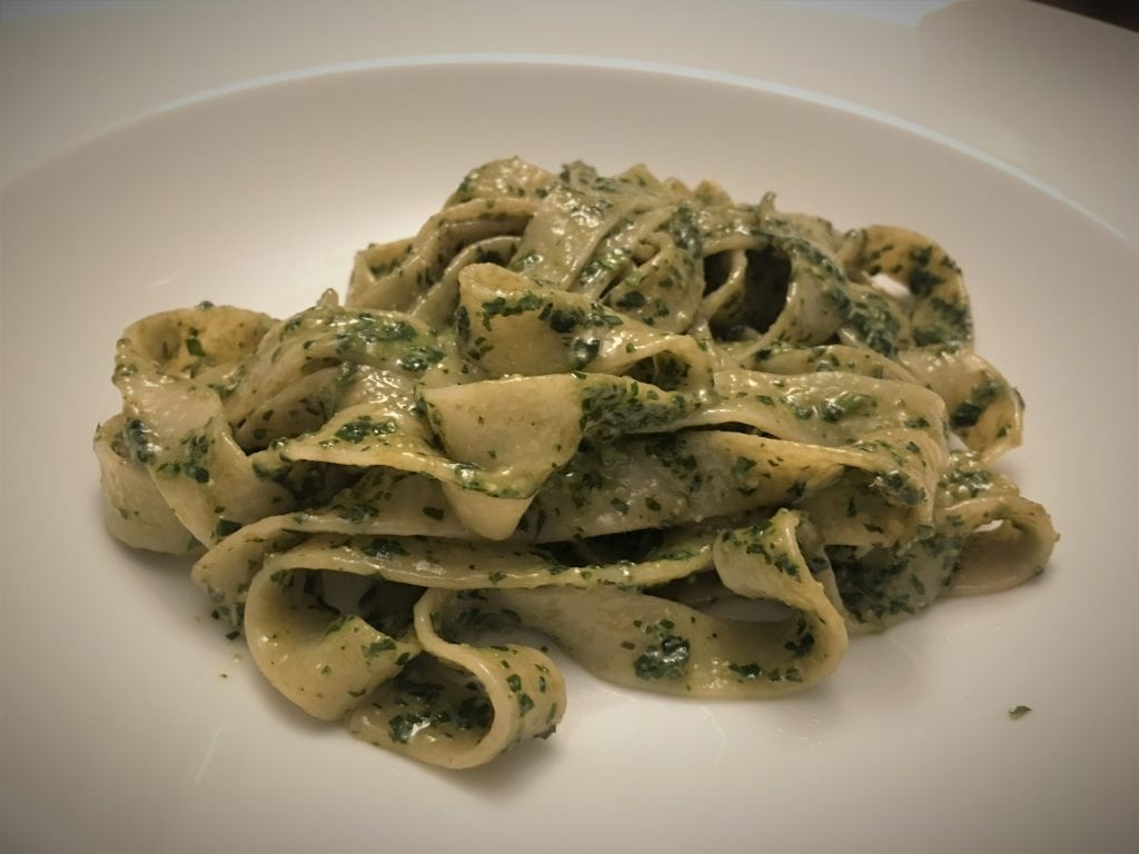 Pasta alla Genovese from Christopher Kimball's Milk Street, September-October 2018