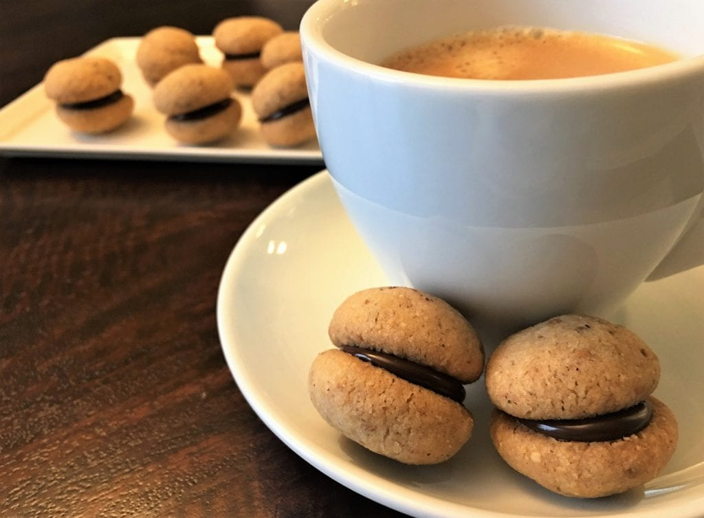 Baci di Dama (Italian Hazelnut Cookies) from Cook's Illustrated