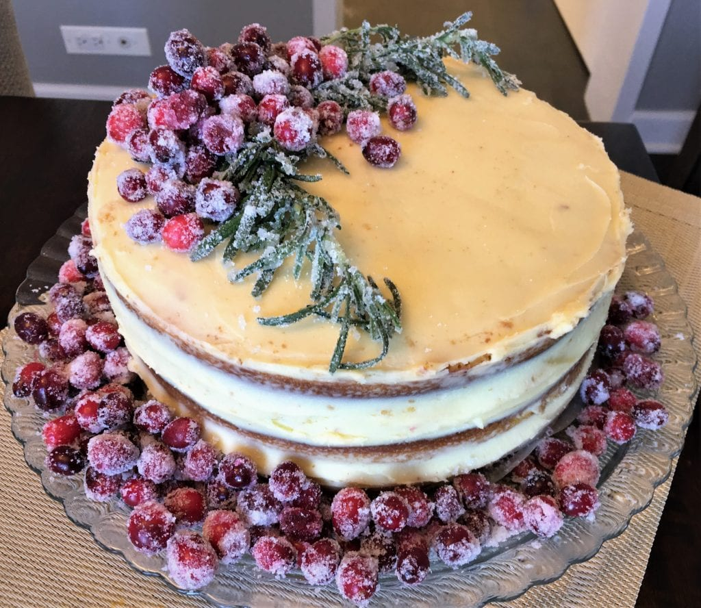 Cranberry-Orange Olive Oil Cake, Cook's Country December-January 2020