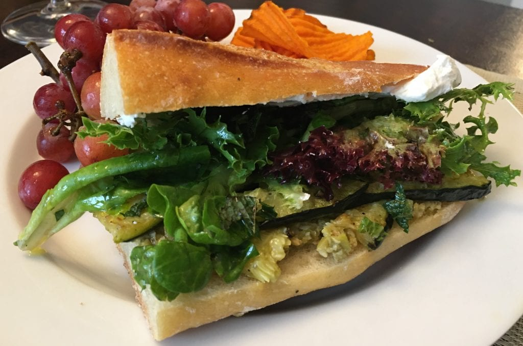French Summer Sandwiches with Zucchini and Olive Tapenade, from The Complete Vegetarian Cookbook (America's Test Kitchen)
