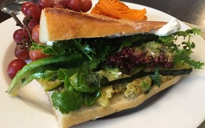 French Summer Sandwiches with Zucchini and Olive Tapenade