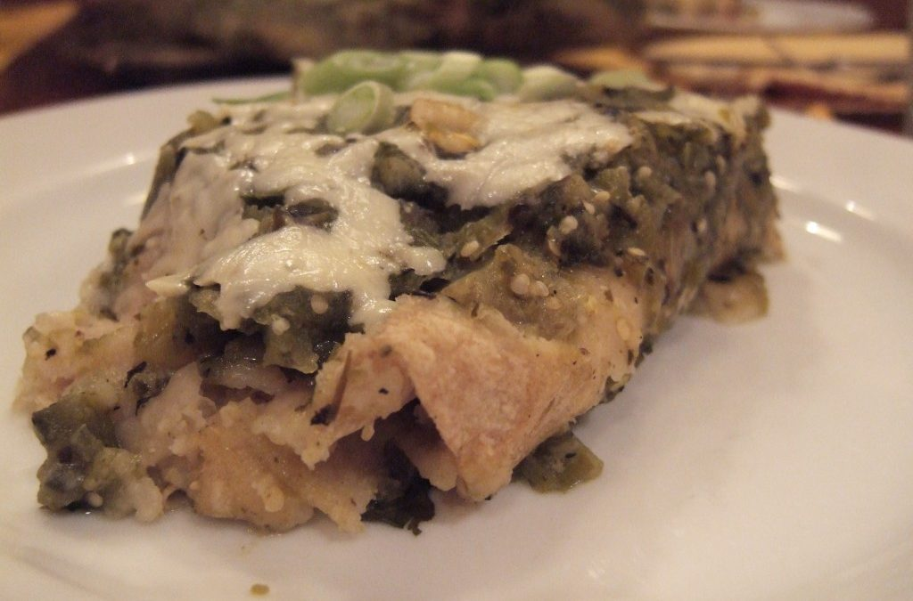 Off Topic: Enchiladas Verde