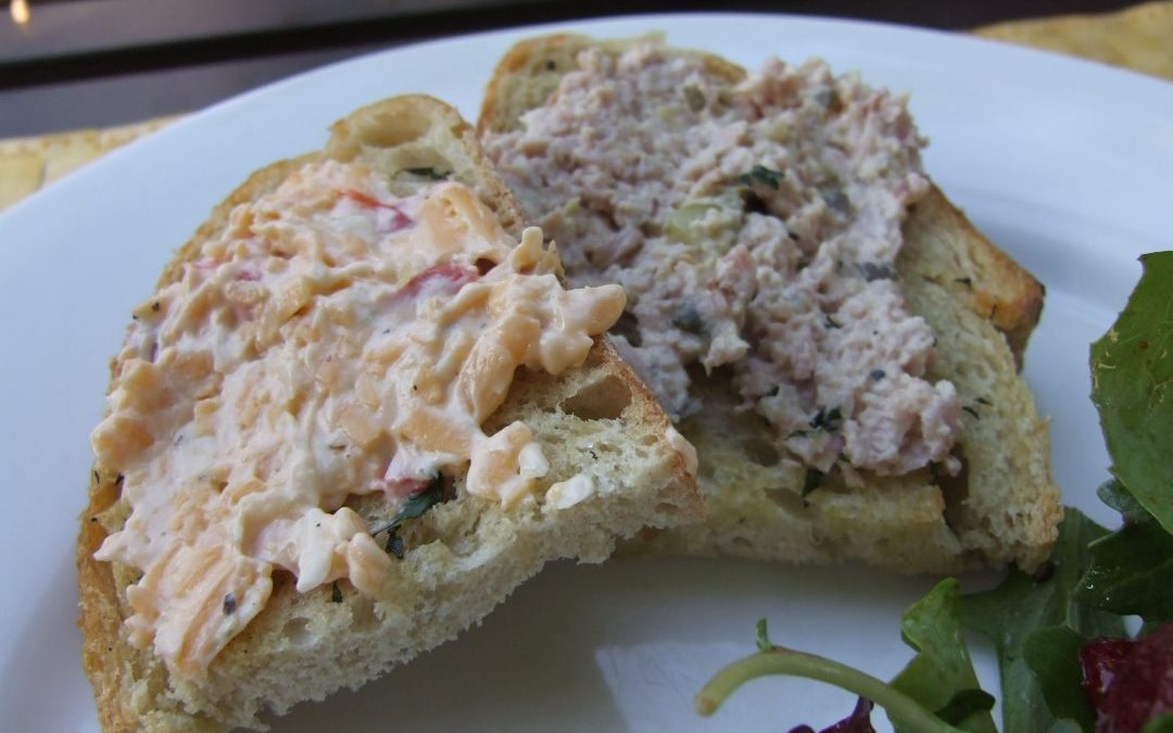 Sara Foster's Southern Kitchen: Deviled Ham Salad and Pimento Cheese